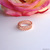 Bay Leaf Rose Gold Midi Ring