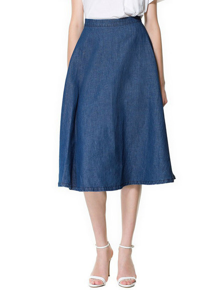dress skirt blue dress royal blue dress midi skirt maxi dress