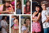blouse,tiffany theissin,90s style,kelly kapowski,saved by the bell