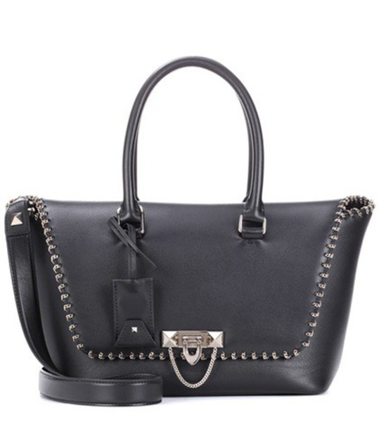 Valentino bag shoulder bag leather black