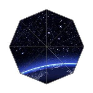 Amazon.com : night sky stars auto foldable umbrella : sports & outdoors