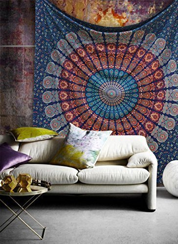 Dorm Decor Large Hippie Tapestry Hippy Mandala Bohemian Tapestries