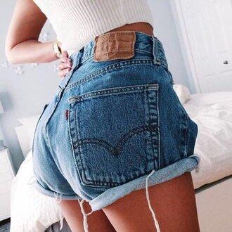 shorts levi's denim shorts