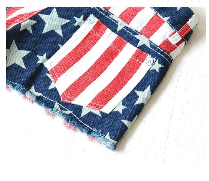 Buy jeans, brand jeans, ladies jeans, ls0638 # japanese vivi magazine lena american flag printed jeans shorts at aliexpress.com