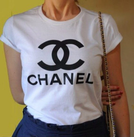 chanel t-shirt chanel t-shirt chanel shirt vogue shirt