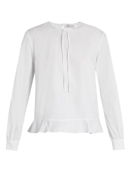 REDValentino top cotton white