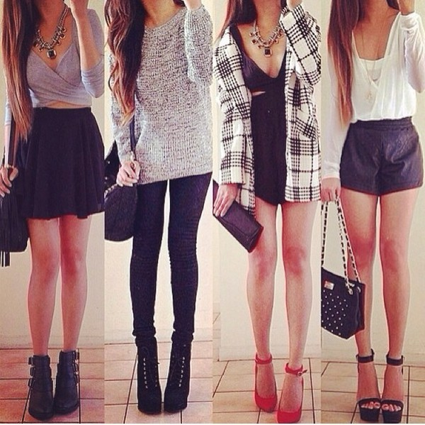 cardigan top skirt shoes shorts sweater pants