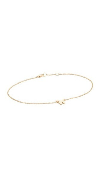 butterfly anklet gold jewels