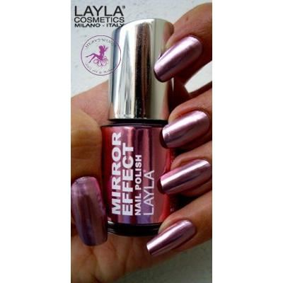 Vernis ongles n 3 rose pink chrome effet miroir for Application miroir iphone