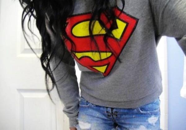 sweater superman