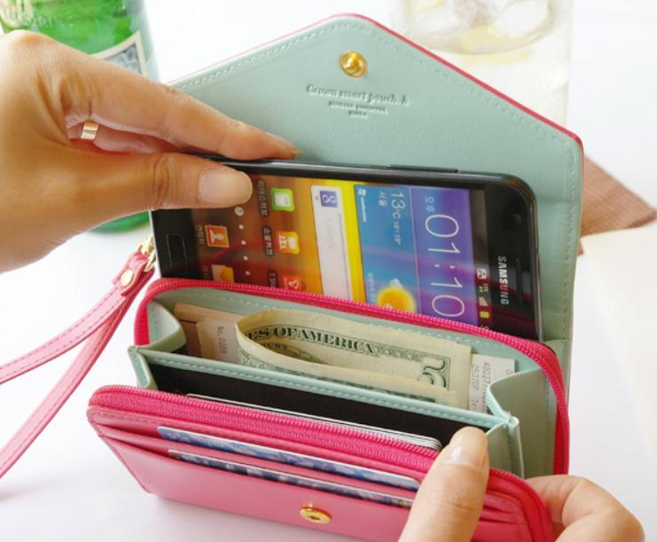 Fashion cute colorful bag for phone and wallet / dopediva