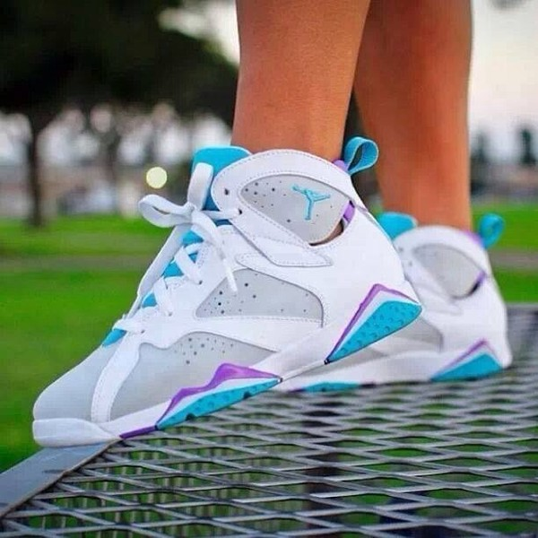 Purple And Blue Air Jordans Air Jordan 7 Mineral Blue