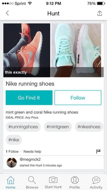 shorts orange roshe runs mint green nikes