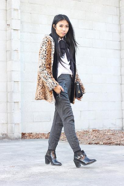 fashion of a novice coat shoes