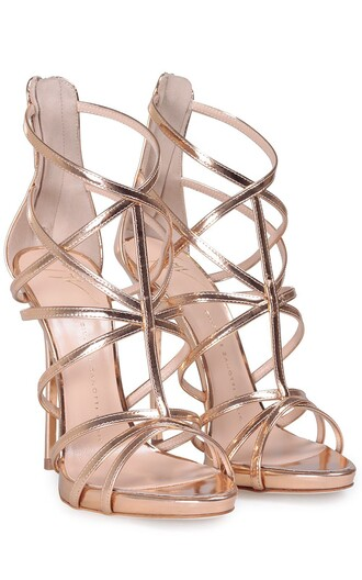 leather rose gold rose gold shoes