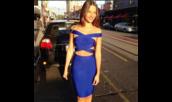dress,bodycon,bodycon skirt,bodycon top,bandage skirt,bandage top,blue skirt,blue shirt,new fashion