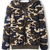 Shearling Coat with Camouflage Pattern|Disheefashion