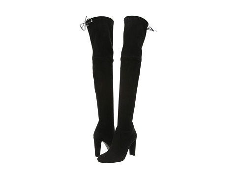 Stuart Weitzman Highland Black Suede - Zappos.com Free Shipping BOTH Ways