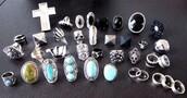 skull,jewels