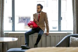 the metro man blogger jacket shirt pants shoes jewels