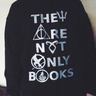 sweater books jumper
