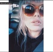 sunglasses,orange,stylish,grunge,hipster,summer