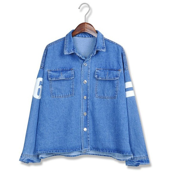 korea fashion shirt top tops blouse blouses mcclaugherty manila philippines koreanfashion asianfashion denimtop denimtops denimblouse denimblouses denim korean