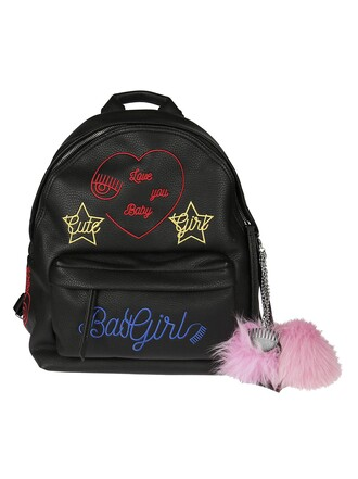 embroidered backpack bag