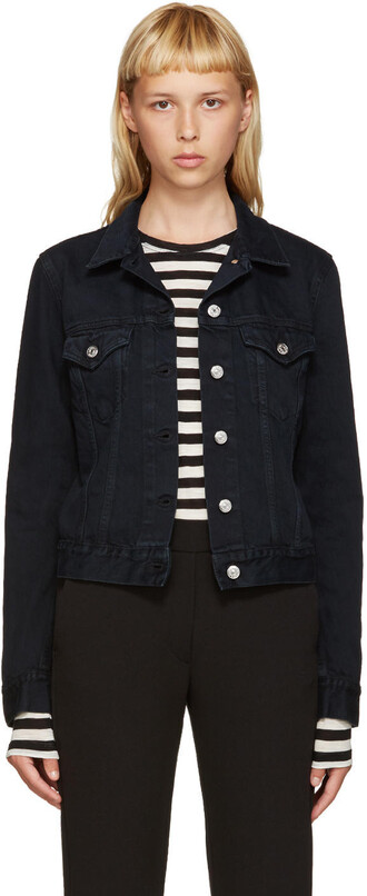 jacket denim black