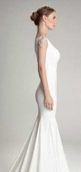 dress white white dress wedding wedding dresses