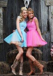 sherri hill 11267,a line prom dresses,short a line prom dress,short tulle prom dress,polka dot prom dress,polka dots,prom dress