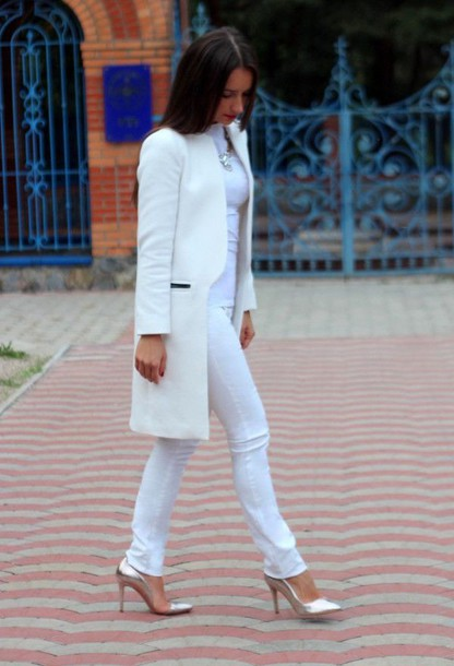 Long White Coats