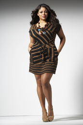 dress,brown dress,bronze dress,plus size