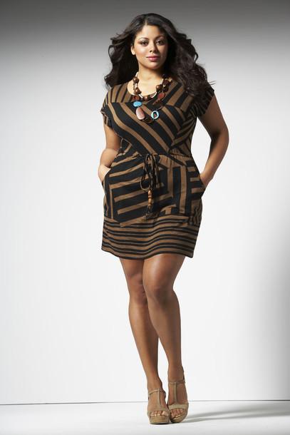 Dress Brown Dress Bronze Dress Plus Size Wheretoget