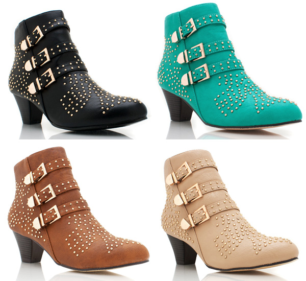 Real vs. Steal – Chloé Susan Studded Ankle Boots
