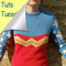 Tute tuesday: how to knit a wonder woman sweater | craftster blog