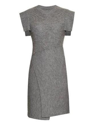 dress knit light grey