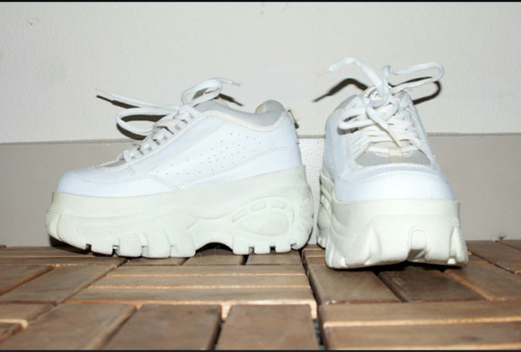 90s vintage shoes platform sneakers sneakers chunky club kids spice air