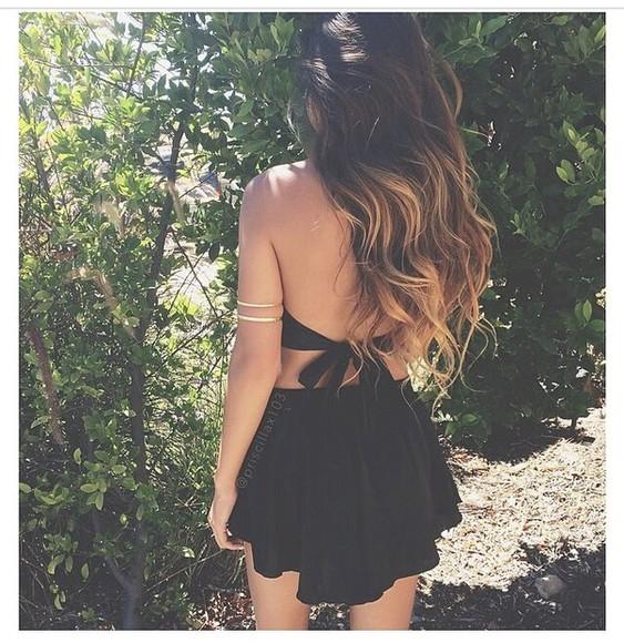 black style little black dress black dress short dress dress