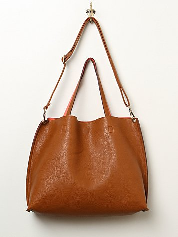 Free People  Slouchy Vegan Tote at Free People Clothing Boutique