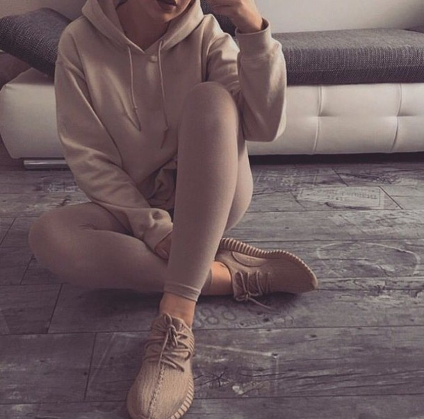 Adidas Yeezy Boost 350 OXFORD TAN Retail Look