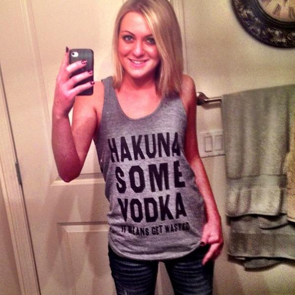 shirt t-shirt vodka skreened