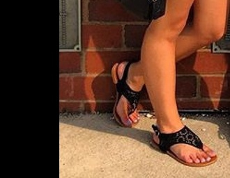 shoes flat sandals black black shoes sun sol floral sandals summer flowers