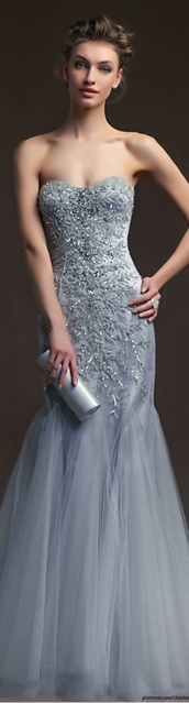 dress,formal dress,prom dress,silver,beaded,embroidered,mermaid prom dress