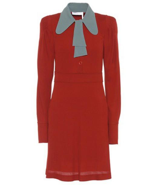 Chloe dress red