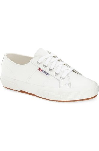 shoes superga white sneakers sneakers