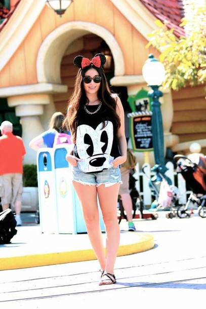 shirt top t-shirt disney