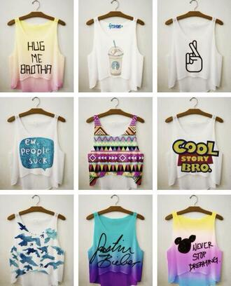 shirt justin bieber crop tops dress t-shirt cute summer beautiful