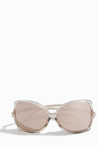 oversized rose gold rose sunglasses oversized sunglasses gold