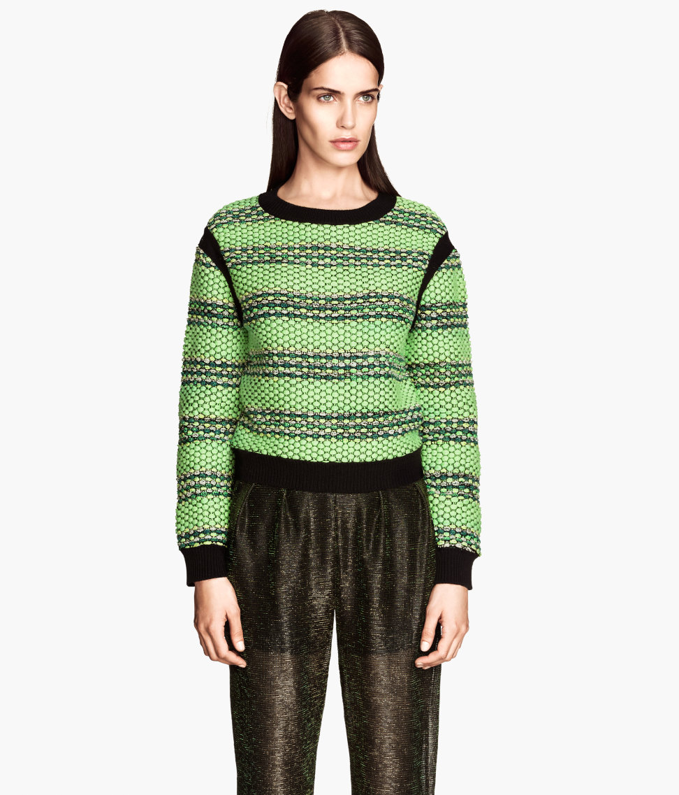 H&M Textured-knit Sweater $59.95